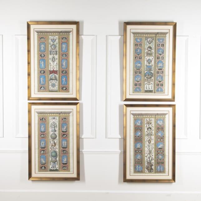 Set of Four Studies of Raphael Frescoes WD8815669