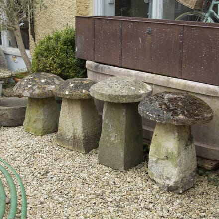 Set of Four Staddle Stones GA4210161