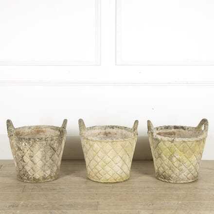 Set of Large Studio Pots GA209869