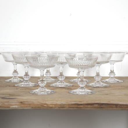 Set of Nine Champagne Coupes DA1515237