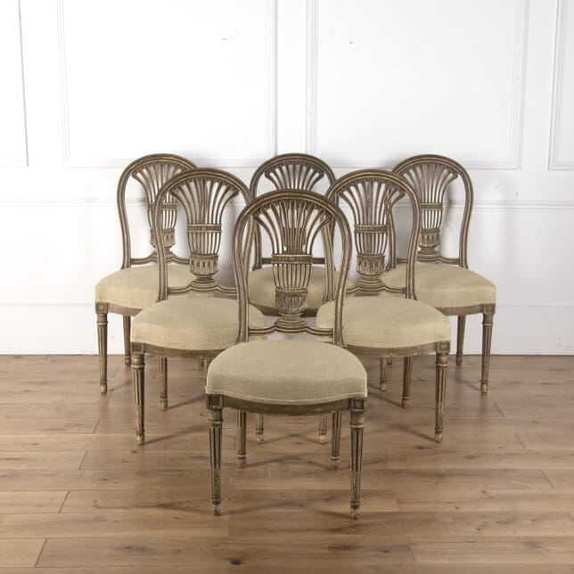 Set of Six French Dining Chairs CD9012942