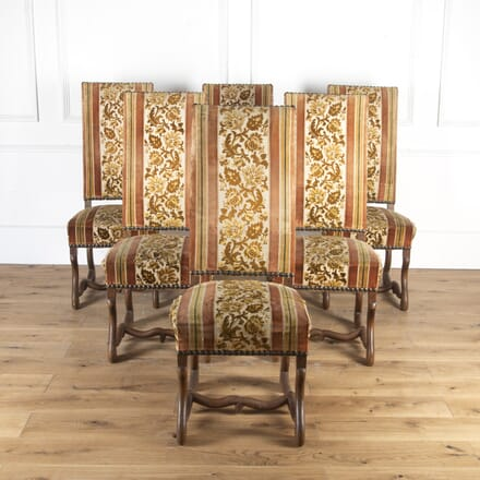 Set of Six French Tall Back Dining Chairs CH8513829