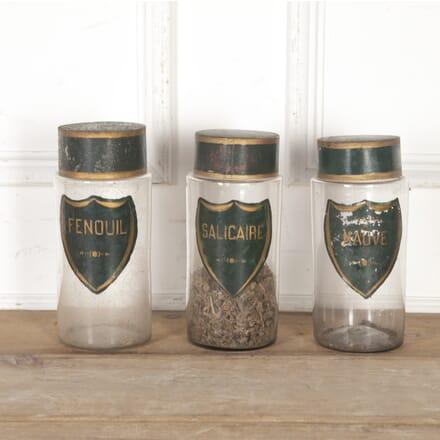 Set of Three French Apothecary Jars DA8316124
