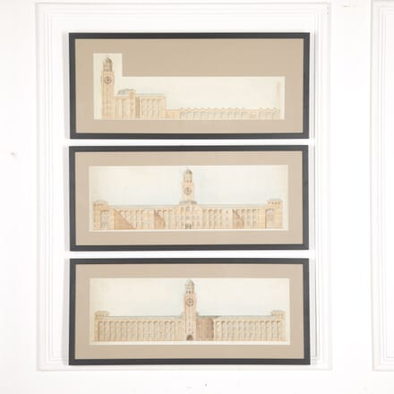 Set of Three Architectural Drawings WD4816218