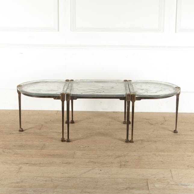 Set of Three Brutalist Coffee Tables CT1111048