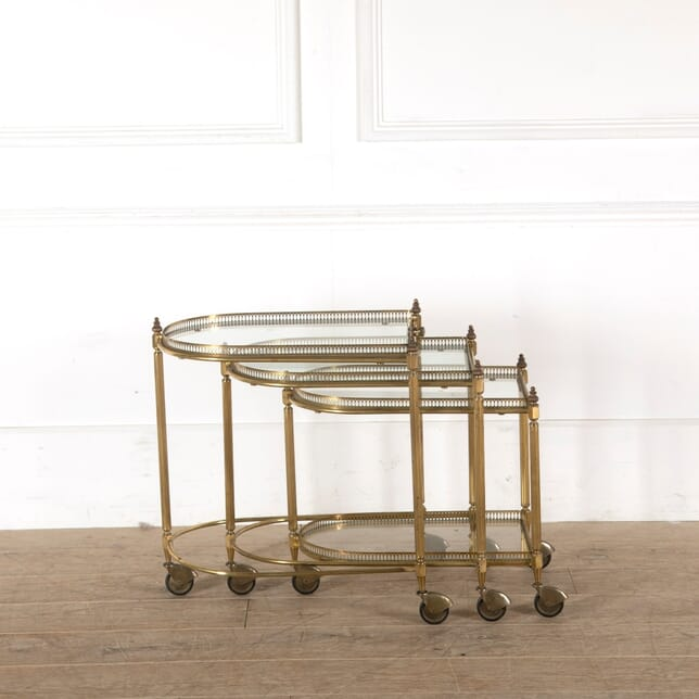 Set of Three Nesting Trollies CT3010913