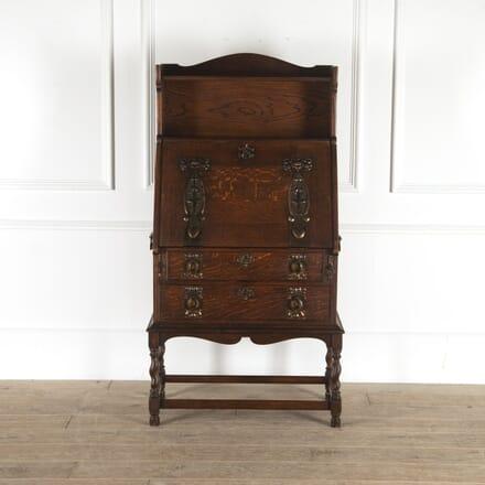 Shapland & Petter Arts & Crafts Oak Bureau DB7814472