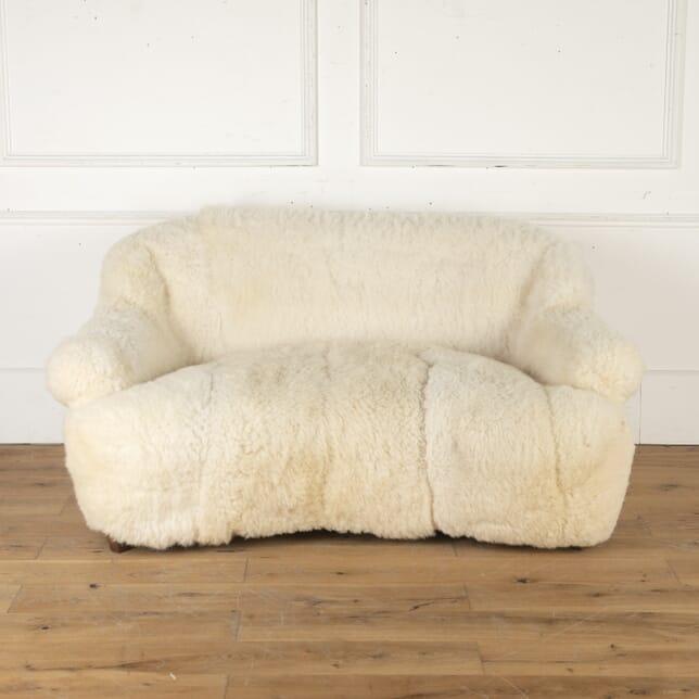 English Sheepskin Sofa SB7915952