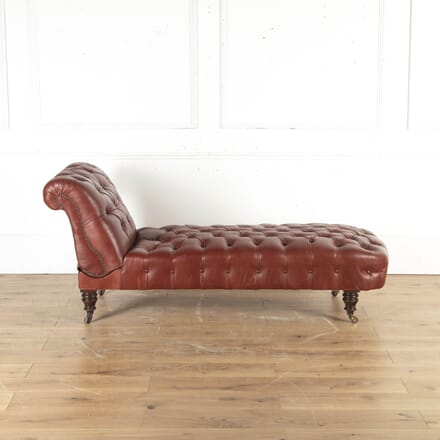Shoolbred Leather Chaise Longue SB8715307