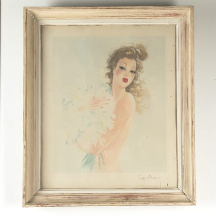 Signed Lithograph by Eugene Leliepvre, 1940 WD1510598