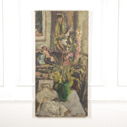 Signed Oil on Canvas by Woulfart WD1515398