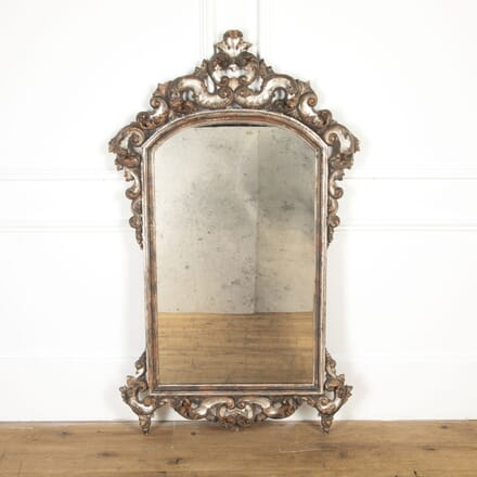 Italian Silver Gilt Mirror MI2017018