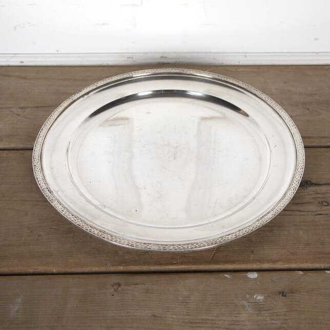 French Silver Plate Tray DA9015492