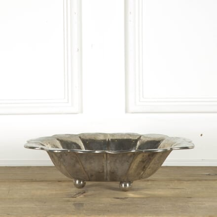 Silver Plated Bowl on Ball Feet DA299825