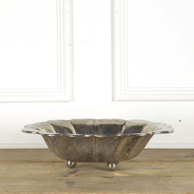 Silver Plated Bowl on Ball Feet DA299825