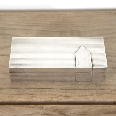 Silver-Plated Box by Maria Pergay DA3014162