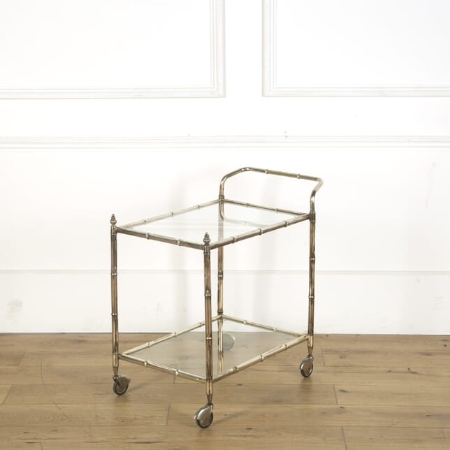 Silver Plated Drinks Trolley CO539612