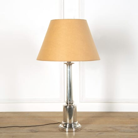 Silvered Table Lamp LT639018