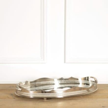 Silverplate Oval Tray DA159077
