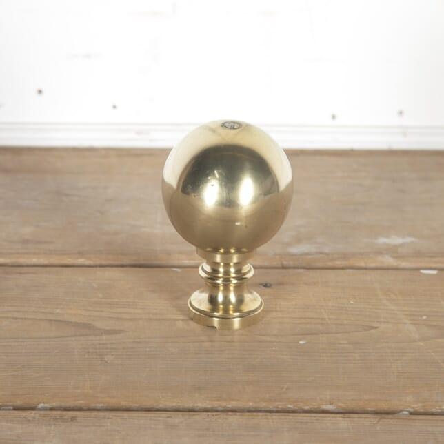 Single French Brass Boule d'Escalier DA4315163