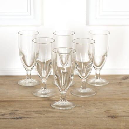 Set of Six French Bistro Glasses DA9016823