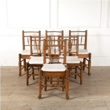 Six Late C19th Dining Chairs CD9011244