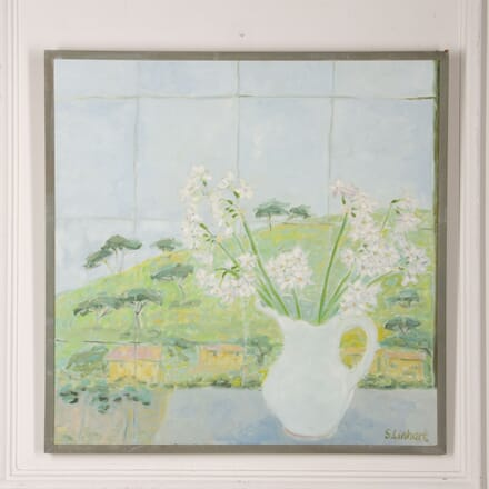 20th Century Still Life Painting by Susanna Linhart WD2917514