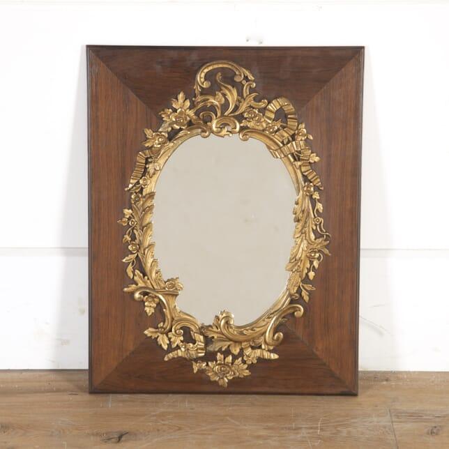 Small 19th Century Gilt Mirror MI8514583