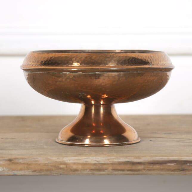 Small Arts & Crafts Copper Footed Dish DA9315720