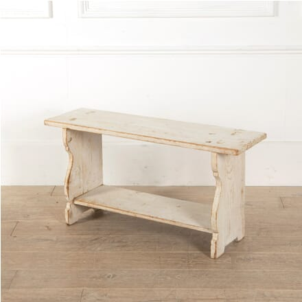 Small French White Pine Stool ST4410900