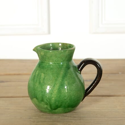 Small Green Glazed Jug DA719154