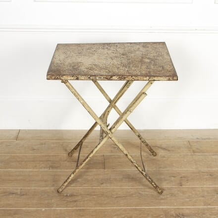 Small  French Metal Table CO4417242