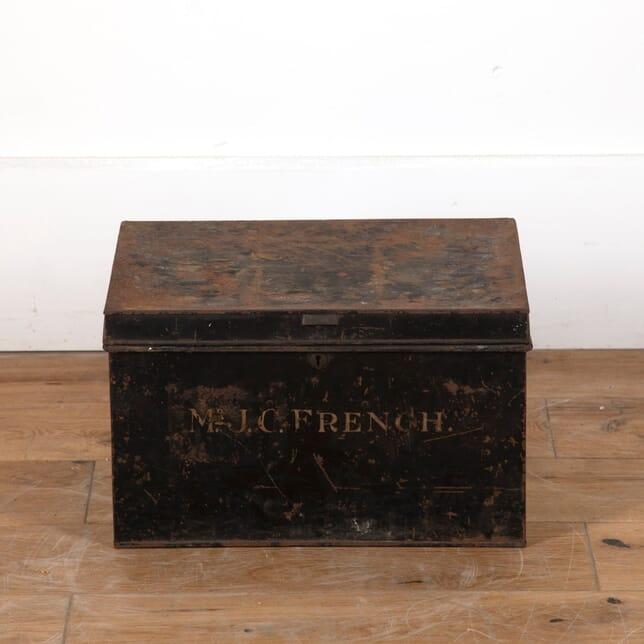 Small Tin Deed Box DA9011166
