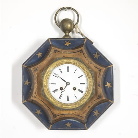Small French Toleware Clock DA5114883