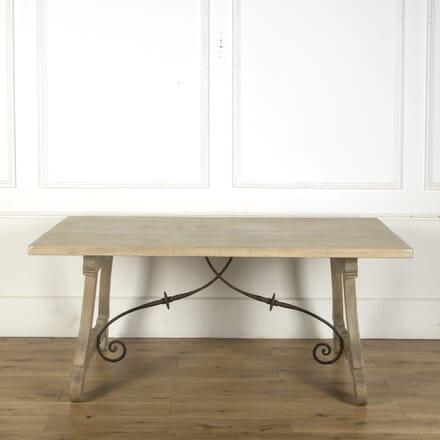 Spanish Bleached Oak Table TD369412