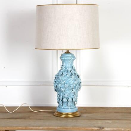 Spanish Blue Ceramic Table Lamp LT7917544