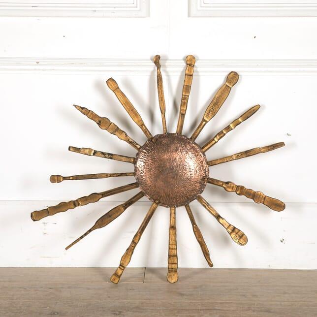 Spanish Starburst Decorative Wall Piece WD7310404