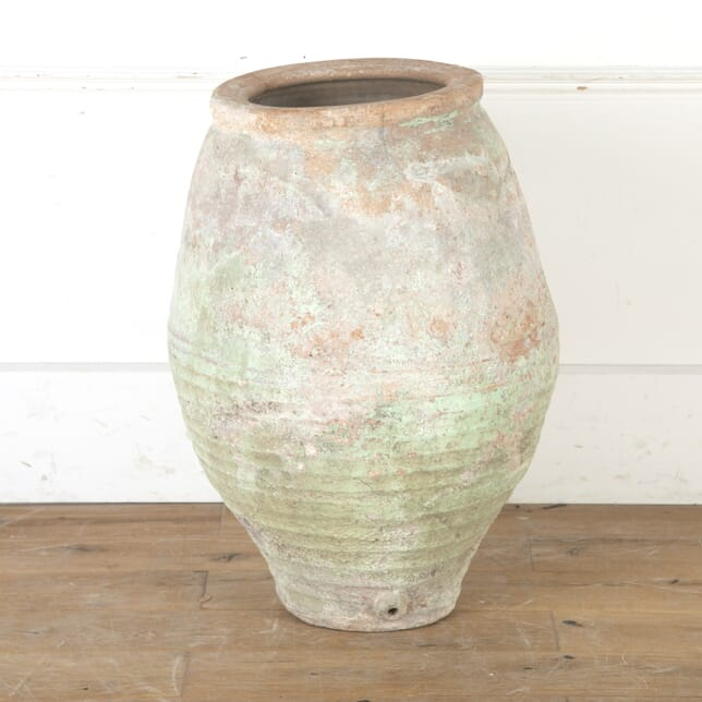 Spanish Terracotta Painted Pot DA7915954