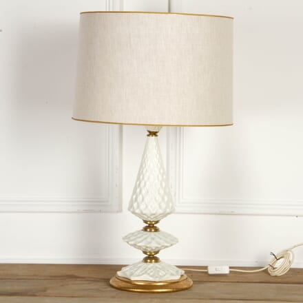 Spanish White Ceramic Table Lamp LT7917543