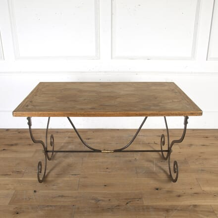 Spanish Mid Century Wrought-Iron Table TC8515593
