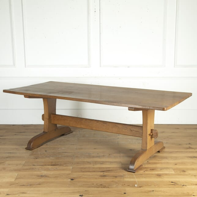 St Ives Arts & Crafts Oak Refectory Table TA2715098