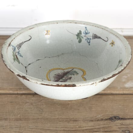 Late 18th Century Hand-Painted Bowl DA9014383