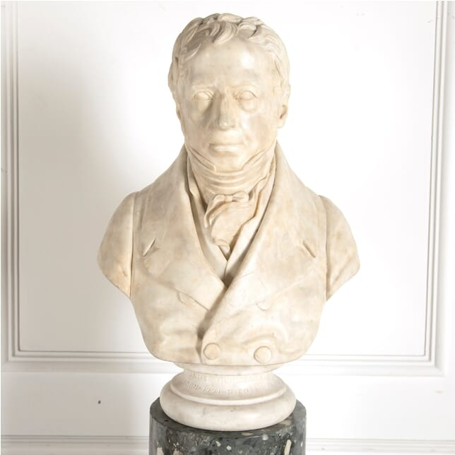 Statuary Marble Bust of James Montgomery DA0910254