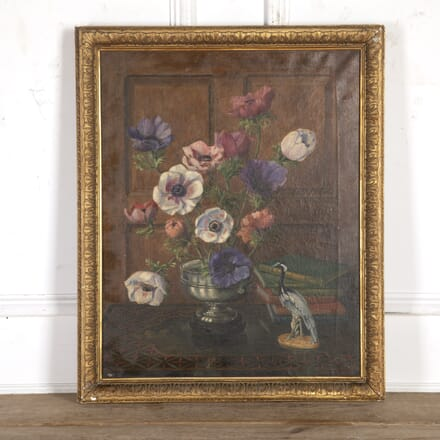 Still Life Oil Painting by Laurence Perugini WD8216604