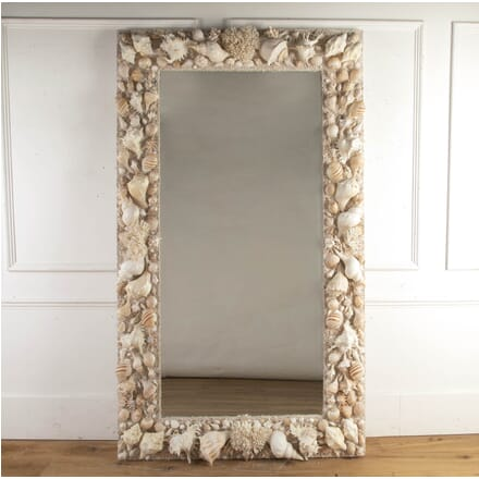Spanish Shell and Coral Grotto Mirror MI8716238