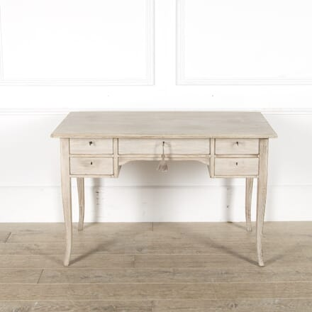 Swedish 20th Century Washed Oak Desk DB449889