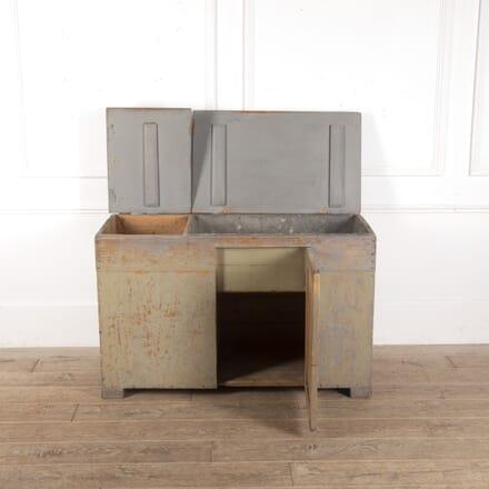 Swedish Cupboard with Zinc Sink CB7513651