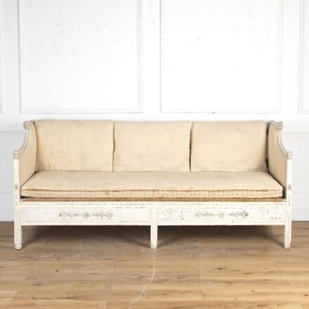 Swedish Gustavian Painted Sofa SB8116304