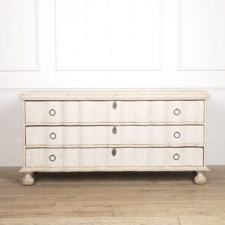 Swedish Baroque Low Chest of Drawers CC6015909