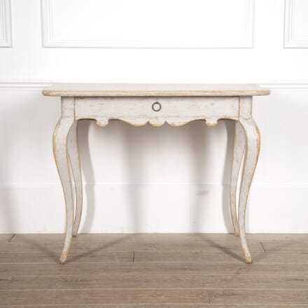 Swedish Period Rococo Side Table CO6014673